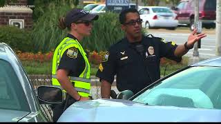 Several hurt, one in handcuffs after Va. Beach crash