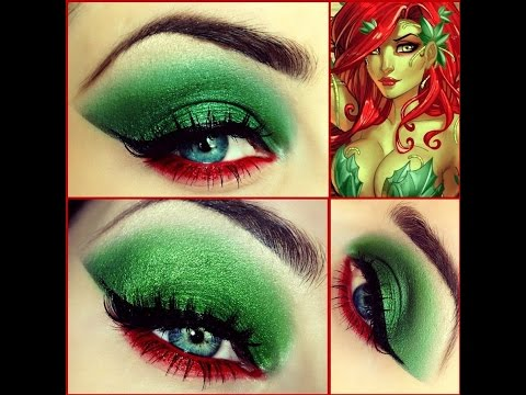 Poison Ivy Accessories, DIY Professional Make Up and Costume Ideas