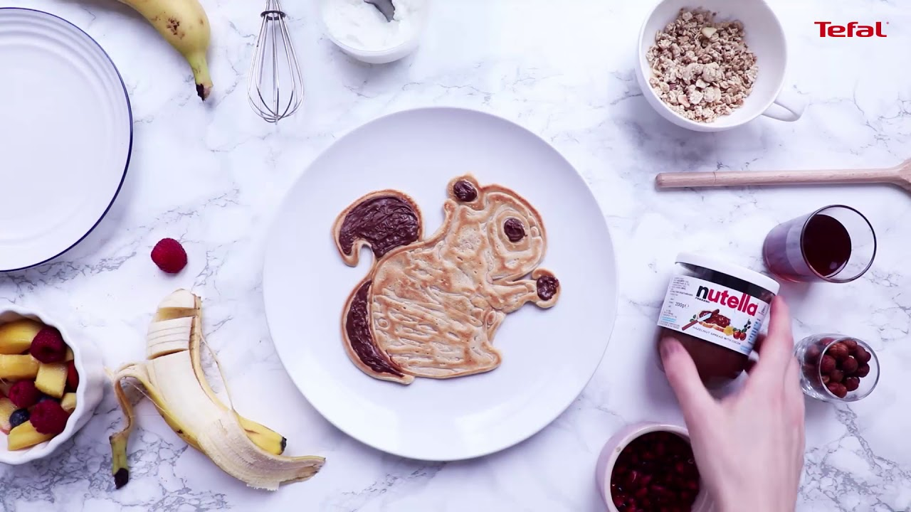 Tefal squirrel pancake pan with nutella tefal pots - Nutella tefal com jeux ...