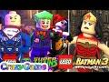 Lego DC Super Villains vs Lego Batman 3 Full Movie Compilation