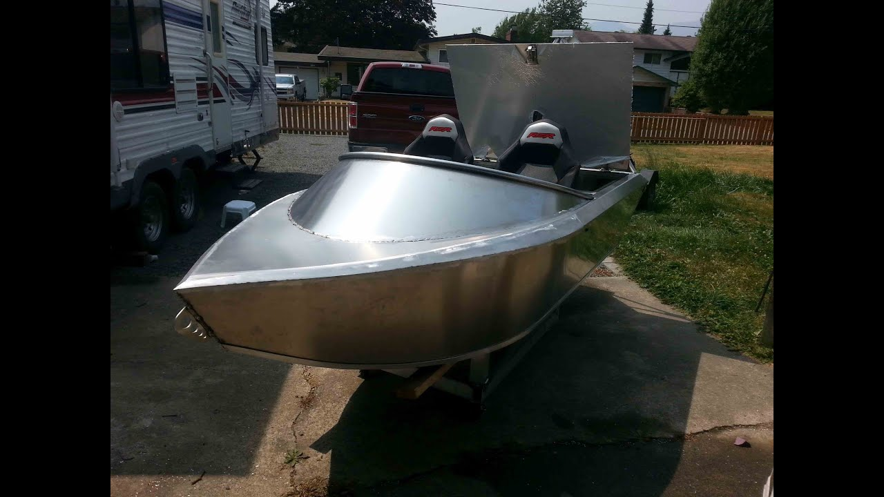 Emperor 10ft Mini-Wee aluminum jet boat test 1 2 and 3 ...