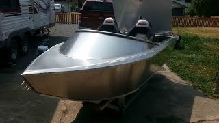 Emperor 10ft Mini-wee Aluminum Jet Boat Test 1 2 And 3
