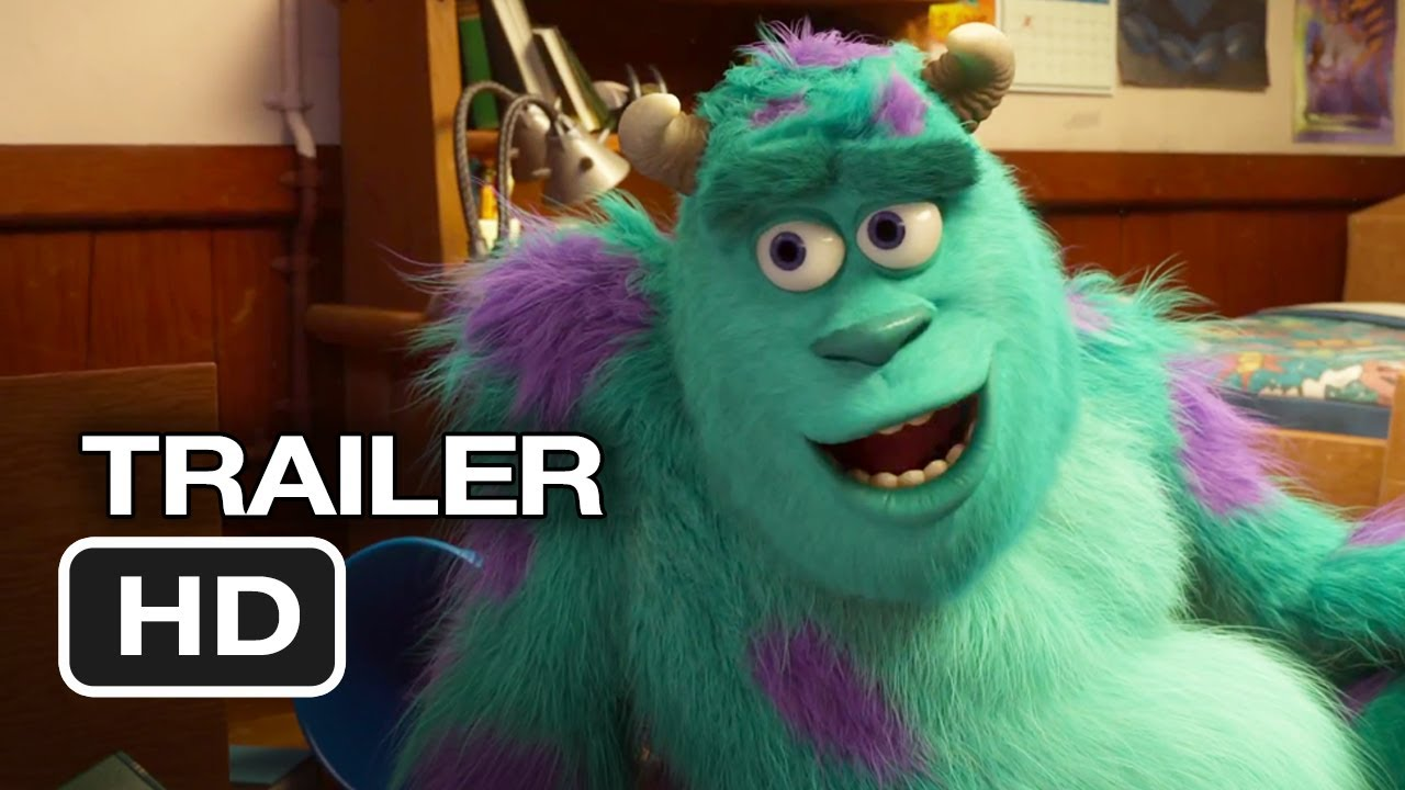 Monsters University Official Trailer 2 2013 Monsters Inc Prequel Pixar Movie Hd Youtube
