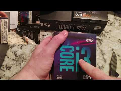 Intel I3-9100F CPU UNBOXING!!  New 9th gen processor for desktop Discussion Review , Fan?