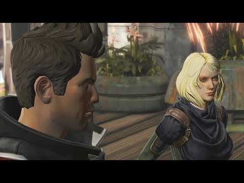 SWTOR - Meet Theron and Lana as STRANGERS ON RISHI (Sith Inquisitor)