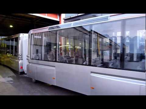 Urban Solar Train - 1st test drive