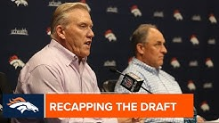 Elway & Fangio wrap up the final day of the 2019 NFL Draft