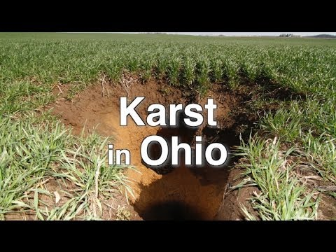 Karst in Ohio
