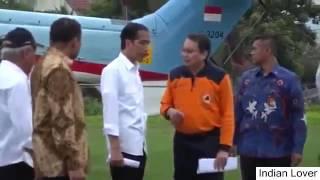 Presiden Jokowi Mengunjungi Korban Gempa Di RSUD Tengku Chik Ditiro Sigli, Pidie