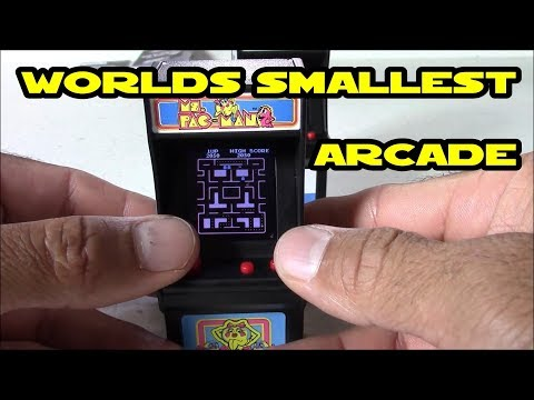 Ms Pac-Man : World's Smallest Tiny Arcade For $12 @ Wal-Mart