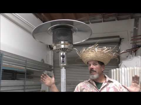 How to light a patio heater.