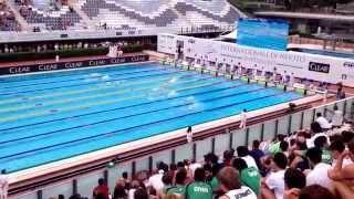 Sarah Sjostrom - 100 Butterfly - European record - Rome 12-06-2015 finale A 100 delfino 7colli 2015