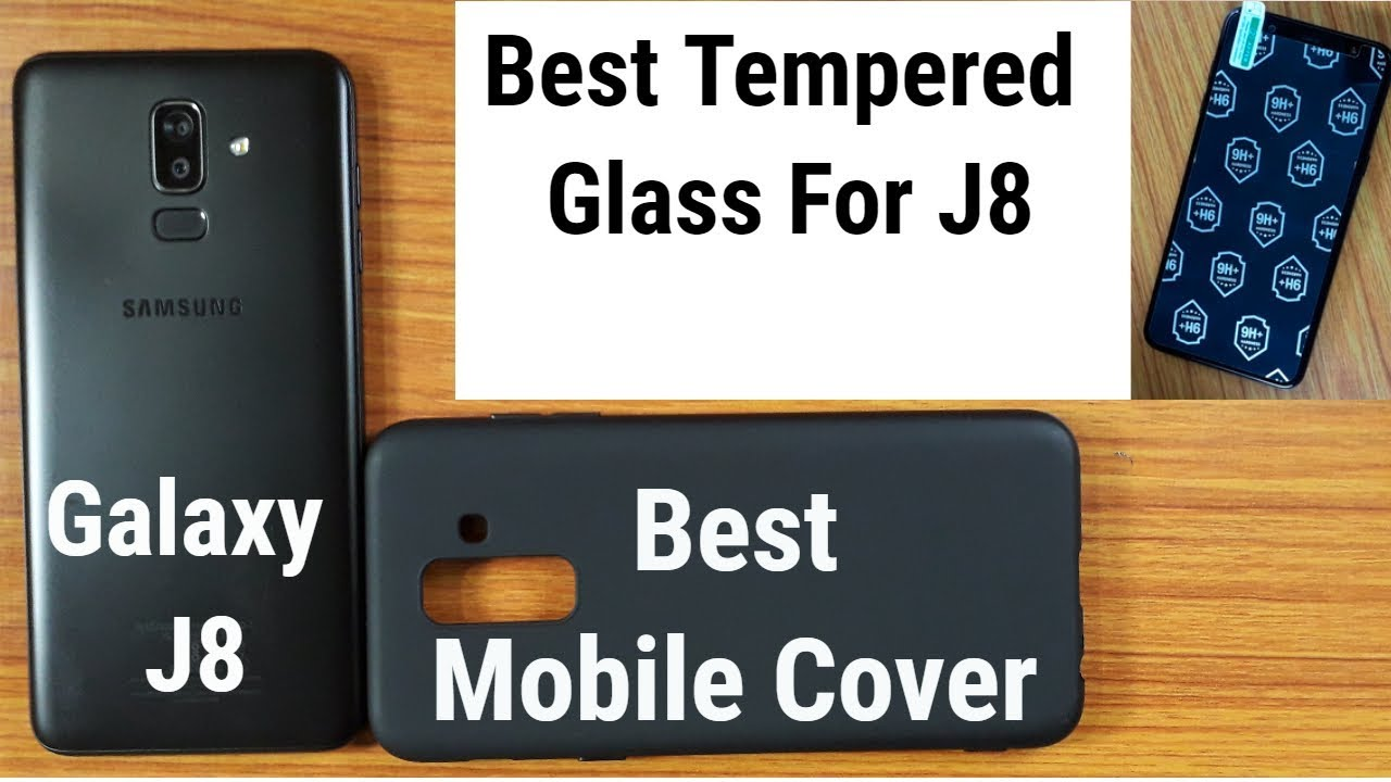 wholesale dealer a5791 baa09 Samsung Galaxy J8 Best Tempered Glass & Back Cover | Live Unboxing and  Fiting