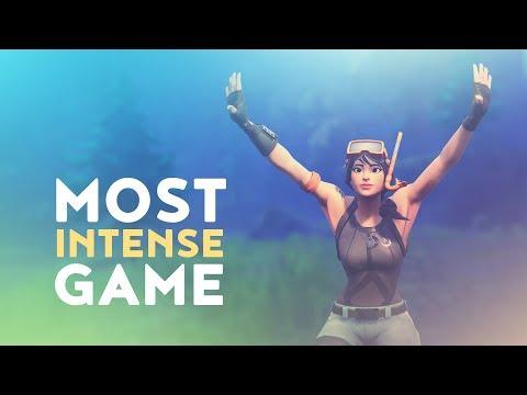 MOST INTENSE GAME YET | SOLO vs. SQUAD (Fortnite Battle Royale)