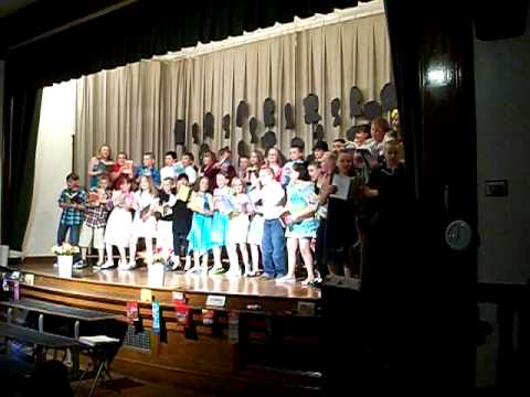 Opal Myrick Elementary school 4th Grade Celebration part 3