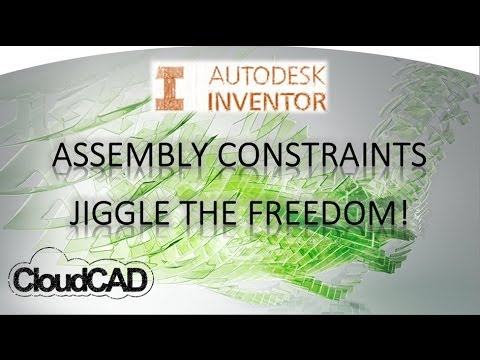 Assembly Constraints, Animate Degree of Freedom Analysis | Autodesk Inventor