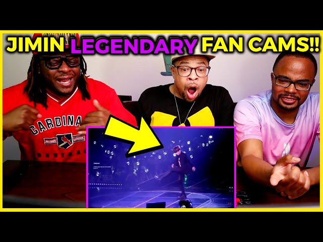 BTS JIMIN Legendary Fancams Compilation REACTION 😮🥵