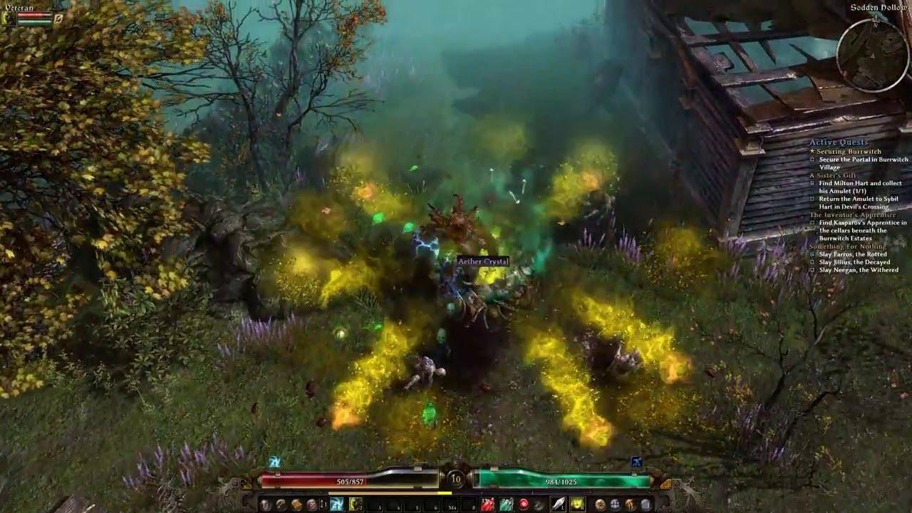 Grim Dawn multiplayer with friends Part 1