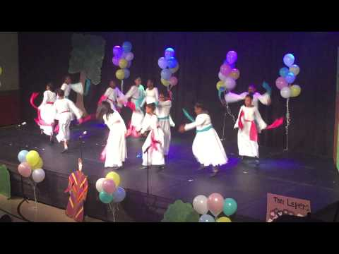 """Turning Point Schools Praise Dancers """"Celebrate the King"""" by Ricky Dillard"""