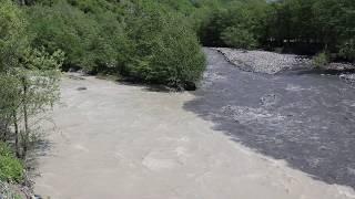 Реки в Грузии инь-ян