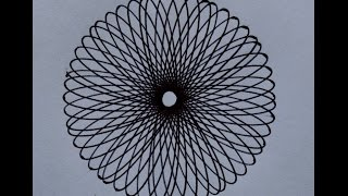 How to Draw with Spiral Ruler / Design Ruler - Spirograph Art Tool (for Beginners)