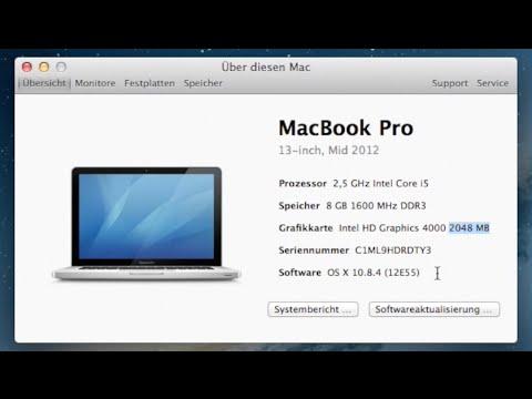 Mac OS X HD 4000 2GB VRAM Hack
