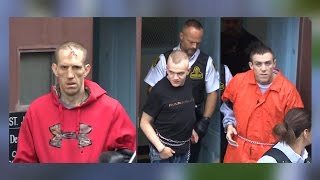 Three arrested and charged in Newfoundland for murder of Steven Miller.