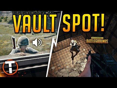 SECRET VAULT SPOT! - PLAYERUNKNOWN'S BATTLEGROUNDS