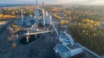 BMH Technology delivered an SRF handling system to Lahti Energia in Finland