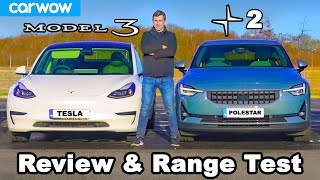 We drove the Tesla Model 3 and Polestar 2 until they DIED!