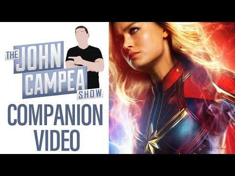 How Much Should We Expect Captain Marvel To Make - TJCS Companion Video