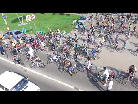 видео: Велопробег Лысково 2018