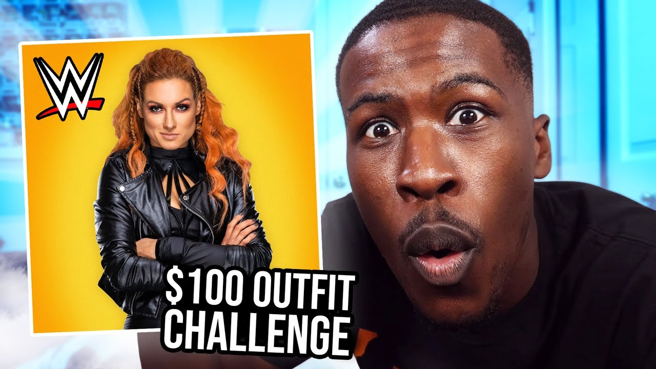WWE $100 Budget Outfit Challenge in the Mall!