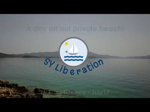 2017 Our Private Greek Beach in Volos