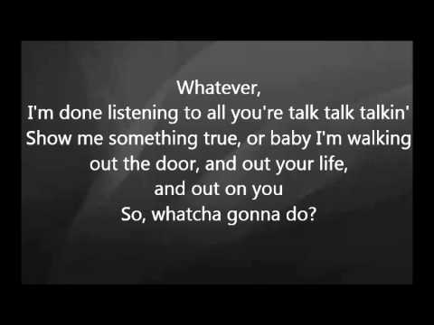 Martina McBride   Whatcha Gonna Do With Lyrics