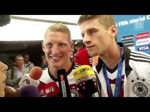 Thomas Müller: Brilliant interview World Cup 2014
