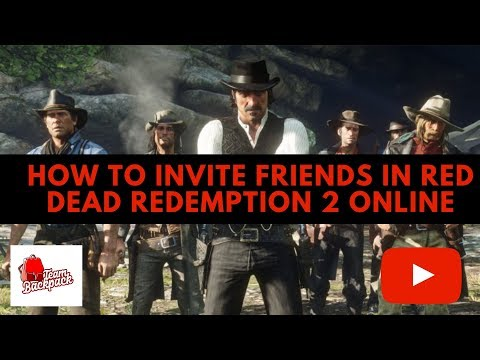 How To Invite Friends (Posse Up) In Red Dead Redemption 2 Online