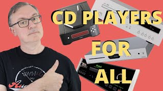 BEGINNER'S GUIDE - CD PLAYERS FOR ALL. THEY AIN'T DEAD YET! HERE'S WHY YOU SHOULD BUY A NEW ONE