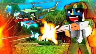 THE HORNETS NEST! (HUGE BATTLE!) - NAMCRAFT - 5 - (Minecraft Vietnam War Roleplay)