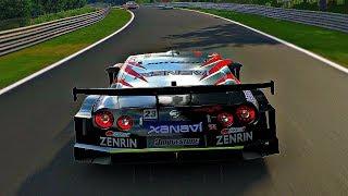 Gran Turismo Sport - Gameplay Nissan Xanavi Nismo GT-R @ Nurburgring Nordschleife [1080p 60fps]