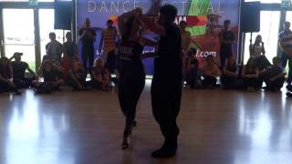 00215 BDF2017   ACD with Adva and Omer ~ video by Zouk Soul