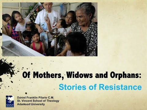 Of Mothers, Widows and Orphans: Stories of Resistance in the Philippine War on Drugs