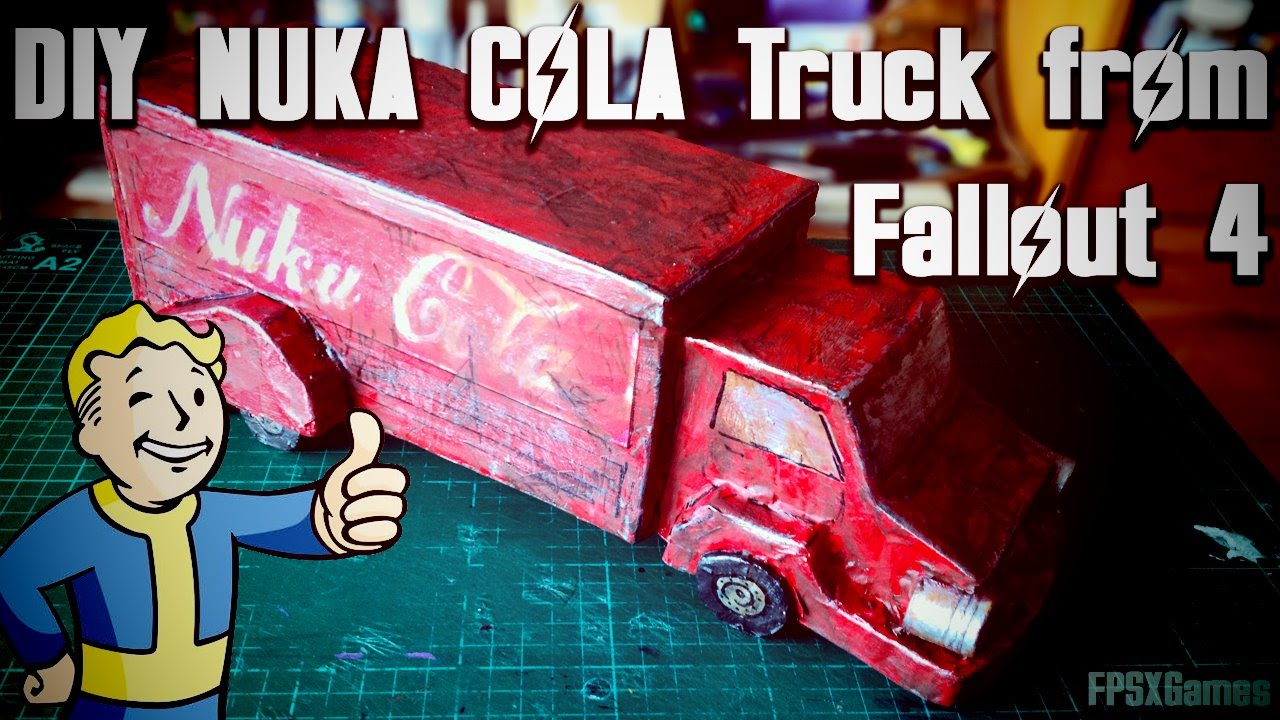 Diy fallout 4 toy nuka cola truck youtube diy fallout 4 toy nuka cola truck solutioingenieria Image collections