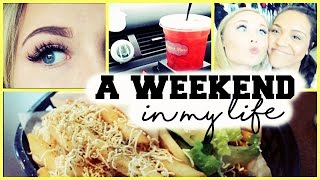 WEEKEND VLOG: Big Lashes, Relay for Life  & WORK