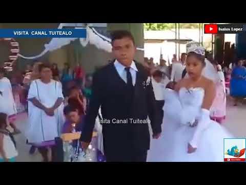 Casan a novios a la fuerza y la llaman la boda más triste de México Video