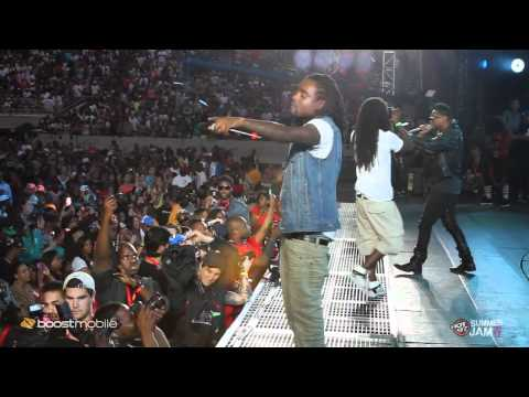 Wale road to summer jam & performs Lotus Flower Bomb with Miguel