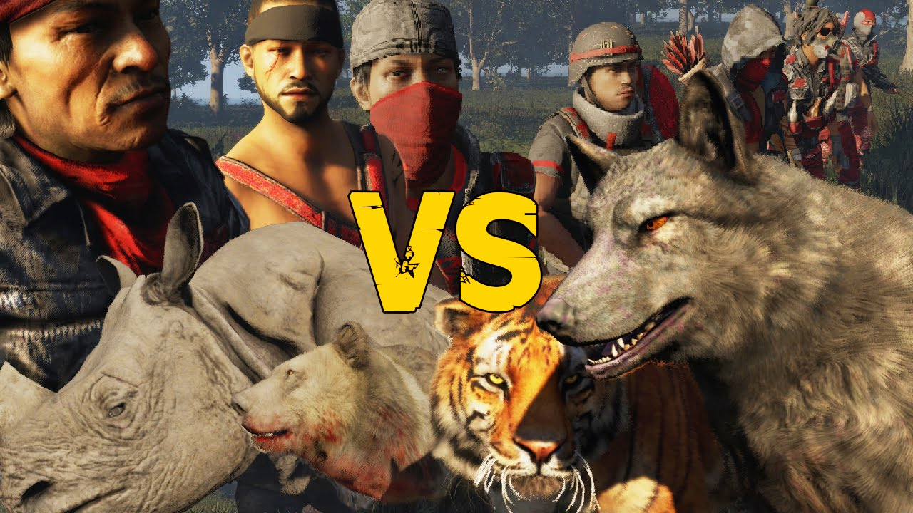 Royal Soldiers VS Wild Animals