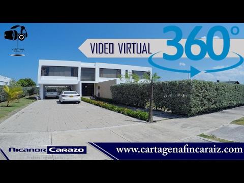 Video 360° - Vendemos casa en Barcelona de indias - Cartagena de indias - COD 277467