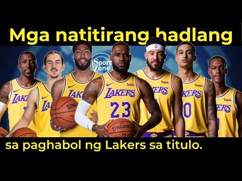 Ang PINAKAMALALAKING Hadlang ni Lebron James at ng Lakers sa Bago Mag Playoffs.