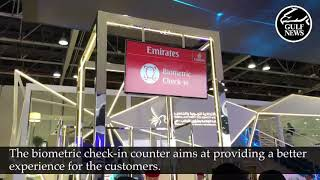 Gitex 2019 Technology Week: Biometric Facial Recognition check-in